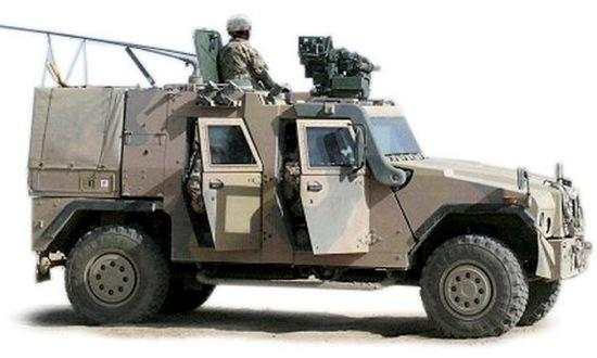 The General Dynamics Land Systems and AM General joint project, the Eagle IV. Photo courtesy of Autoweek.