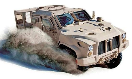 The Oshkosh Defense L-ATV. Photo courtesy of Autoweek.