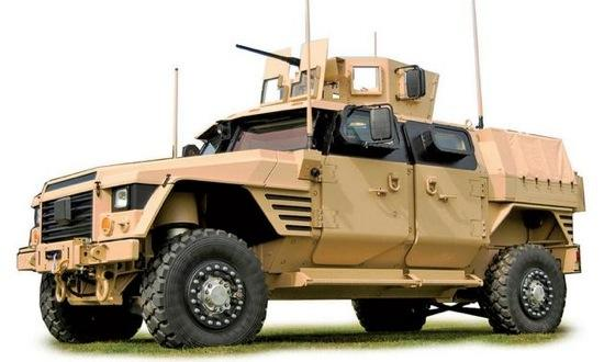 The Lockheed JLTV. Photo courtesy of Autoweek.