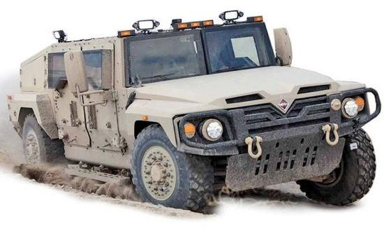 The Navistar Defense Saratoga. Photo courtesy of Autoweek.