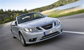 2012 Saab 9-3. Photo by Saab.