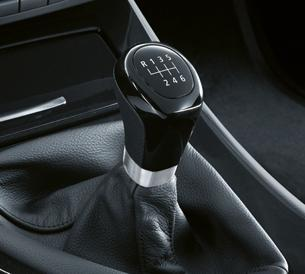 BMW manual-transmission shift lever. Image courtesy BMW.