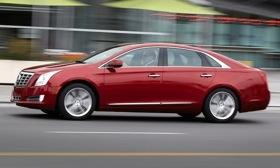 Cadillac launches the XTS sedan this summer. Photo by Cadillac.