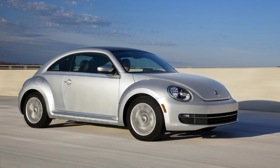 The VW Beetle TDI will cost $24,065. Photo by Volkswagen.