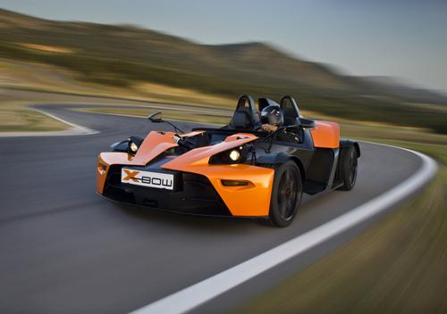 KTM X-Bow. Image courtesy KTM.