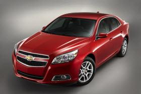 2013 Chevrolet Malibu Eco. Photo by General Motors.