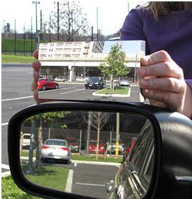 New side-view mirror from Drexel University professor. Photo by Drexel University.