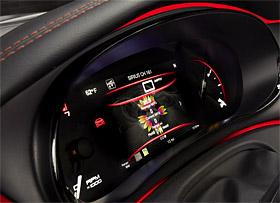 2013 Dodge Dart instrument cluster (c) Chrysler