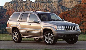 2003 Jeep Grand Cherokee. Photo by Chrysler.