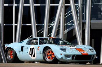 Ford GT40. Image courtesy RM Auctions.