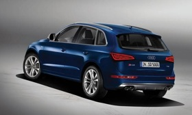 The SQ5 TDI is powered by a 3.0-liter diesel V6. Photo by Audi.&#10;