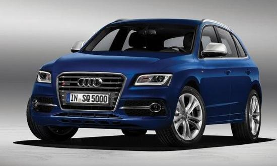 The SQ5 TDI is powered by a 3.0-liter diesel V6. Photo by Audi.
