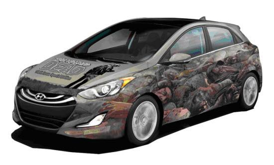 Hyundai Teams with The Walking Dead comic creator for one-off vehicle and promotion.