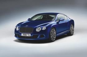The 2013 Bentley Continental GT Speed. Photo by Bentley Motors.