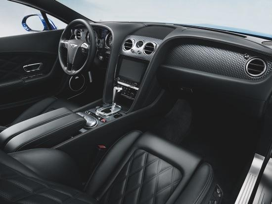 The Bentley Continental GT Speed interior. Photo by Bentley.