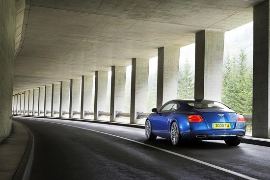 The Bentley Continental GT Speed. Photo by Bentley Motors.