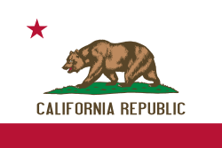 California state flag. Image via Wikipedia.