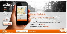 SideCar Webpage Screenshot