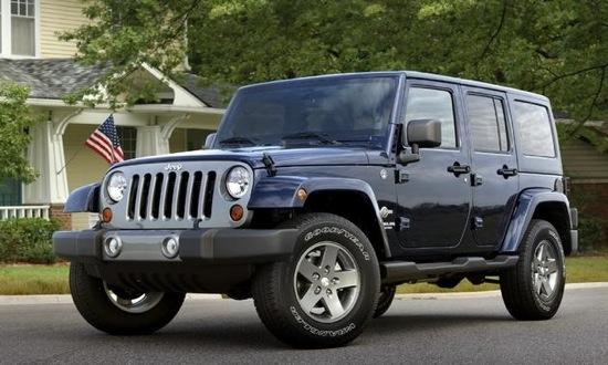 The Jeep Wrangler Freedom edition comes with both two and four doors. Photo by Jeep.