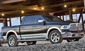 Chrysler vows that the Ram 1500, due this fall, will lead the full-sized pickup segment in fuel economy. Photo by Ram.