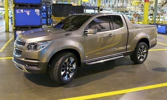Chevrolet will introduce a redesigned Colorado pickup in 2013. Image courtesy of Autoweek.