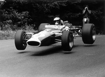 1967 Lotus 49 Nurburgring Jim Clark.