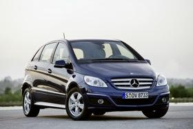 The Mercedes-Benz B-Class. Photo by Mercedes-Benz.