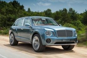 The Bentley EXP 9 F concept. Photo by Bentley.