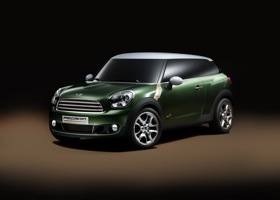 The Mini Paceman concept. Photo by Mini.