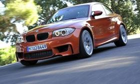 BMW plans to replace the 1-series M coupe, shown, in 2014 with an M Performance model badged M235i. Photo by BMW.