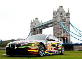 The BMW Art Car by Jeff Koons. Photo by BMW.