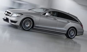 The Mercedes-Benz CLS63 AMG Shooting Brake wagon won't be coming to the United States. Photo by Mercedes-Benz.