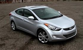 The 2011 Hyundai Elantra Limited. Photo by David Arnouts.
