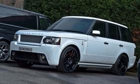 Nothing about this Range Rover suggests that it can protect its occupants from a hail of gunfire -- and that's just how the VIPs inside like it. Photo by International Armoring Corporation.