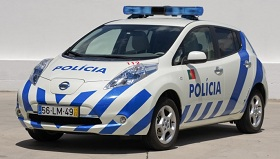 Nissan Leaf Police Car (c) Nissan