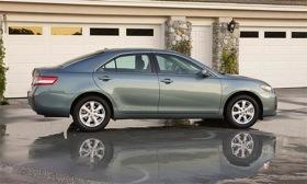 The 2010 Toyota Camry was among the 2.3 million vehicles recalled for sticking accelerators. Photo by Toyota.