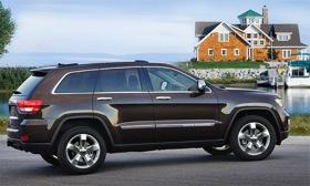 The 2012 Jeep Grand Cherokee. Photo by Jeep.