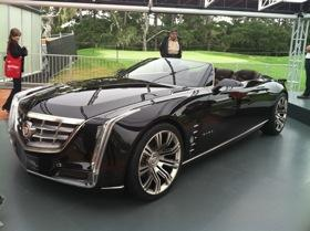 The Cadillac Ciel concept. Photo by Josh Condon.