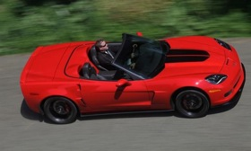 The 2013 Chevrolet Corvette 427 convertible marks the end of the C6 ...