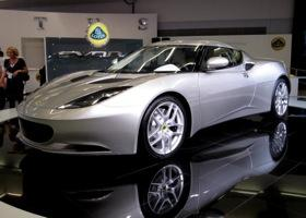 The Lotus Evora. Photo by Lotus.