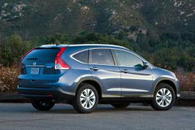 2012 Honda CR-V. Photo by Honda.