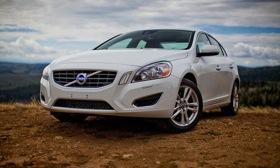 The 2013 Volvo S60 is available with an autonomous emergency braking system. Photo by Volvo.