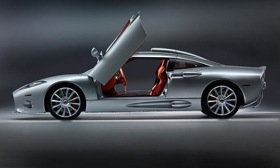 Spyker is suing General Motors for $3 billion. The 2009 C8 Aileron is shown. Photo by Spyker.