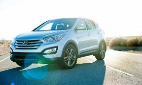 The 2013 Hyundai Santa Fe Sport will hit dealerships later this summer. Photo by Hyundai.&#10;