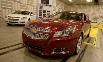 2011 Chevy Malibu (Photo courtesy of Malibu)