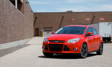 2012 Ford Focus SE (Photo by Patrick M. Hoey)