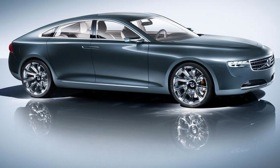 The next Volvo S80, due in 2015, could take styling cues from the Volvo You concept, shown.