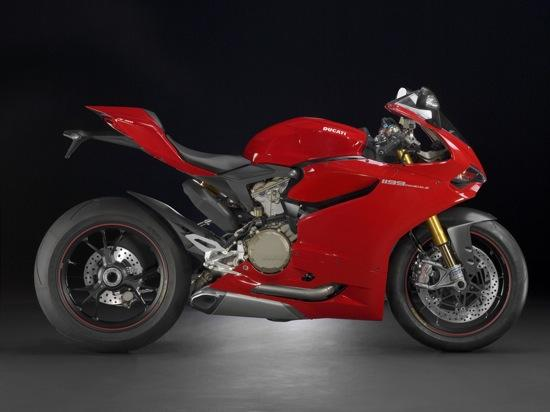 The Ducati 1199 Panigale. Photo by Ducati.