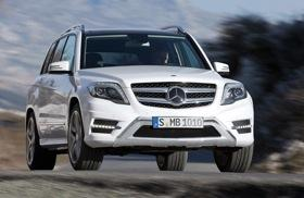The 2013 Mercedes-Benz GLK. Photo by Mercedes-Benz.