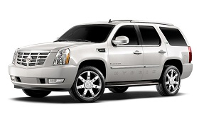 2009 Cadillac Escalade Hybrid (© General Motors)